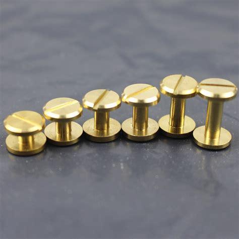 aliexpress buy 20pcs luggage leather belt brass