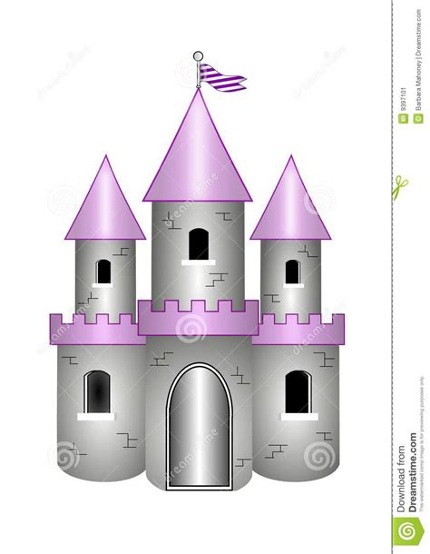 House With Moat by Cartoon Castle Stock Image Image 9397101