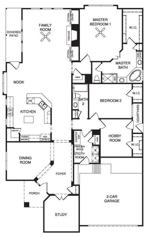 Village Builders Floor Plans | village builders new home floor plan pinterest