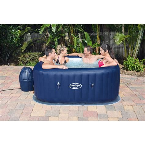 spa gonflable bestway hawa 239 carr 233 6 places assises - Whirlpool Außen Aufblasbar