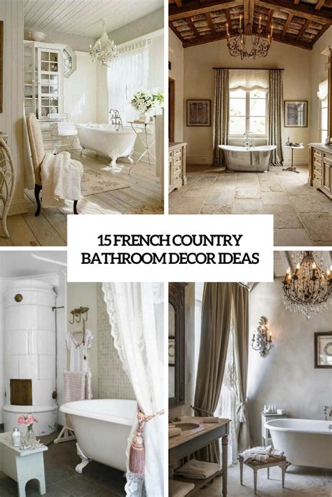 french country bathroom decorating ideas bathrooms archives shelterness