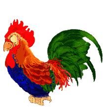 rooster graphics and animated gifs