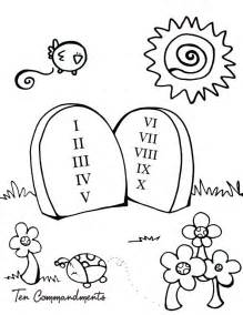 10 commandments coloring page 10 commandments coloring pages for preschool coloring pages