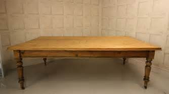 Vintage Pine Dining Table Large 19th Century Antique Pine Dining Table Antiques Atlas