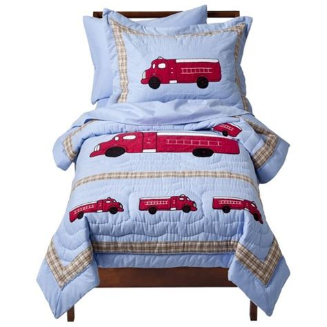 fire truck toddler bedding sweet jojo designs frankie s fire truck 5 pc to target