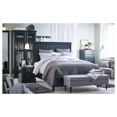 Black Vanity Bench Undredal Bed Frame Queen Ikea Arafen
