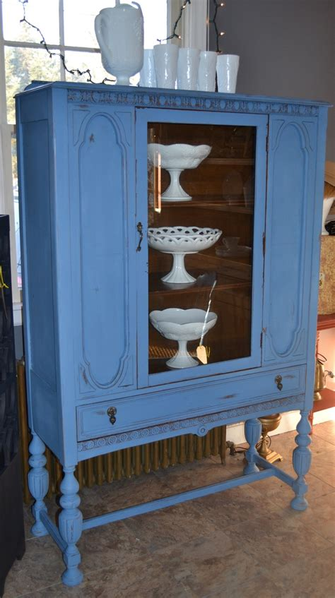 chalk paint in ct 25 best ideas about blue china cabinet on