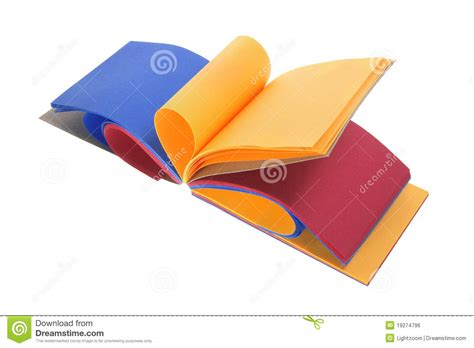 color pad color paper pad royalty free stock image image 19274796