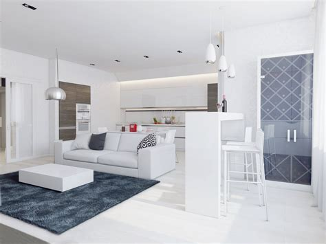 white apartment sparkling white apartment with hideaway home offices