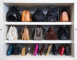 Bag Closet by How To Store Bags Transitional Closet La Closet Design