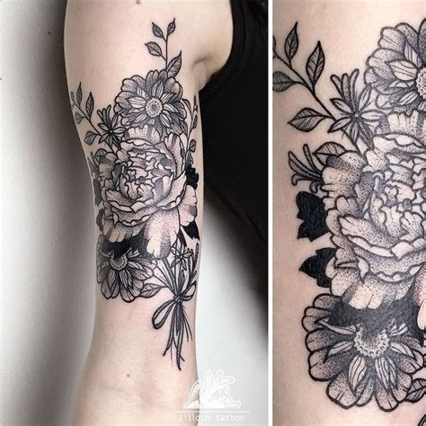 flower bouquet tattoo designs 25 best ideas about flower bouquet on