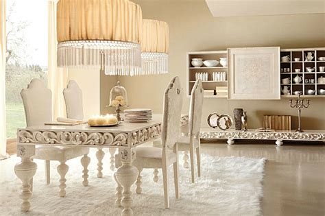 cream dining room luxury home decor with a modern feel