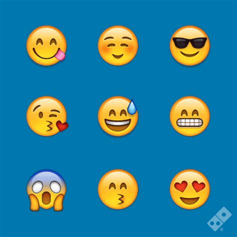 emoji gif happy emoji gif by domino s uk and roi find share on giphy