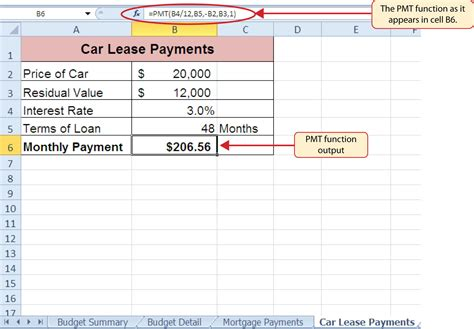 Car Lease Calculator Excel Spreadsheet Natural Buff Dog Car Lease Calculator Excel Template