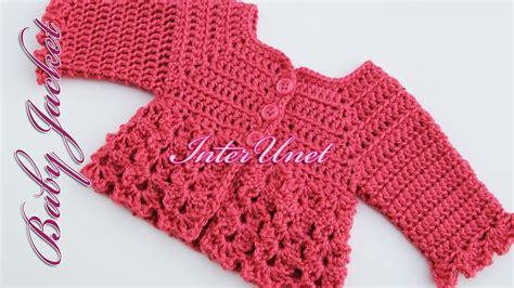 an pattern youtube baby cardigan jacket crochet pattern youtube