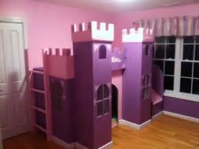 Castle Bunk Bed Plans Princess Castle White Woodworking Projects