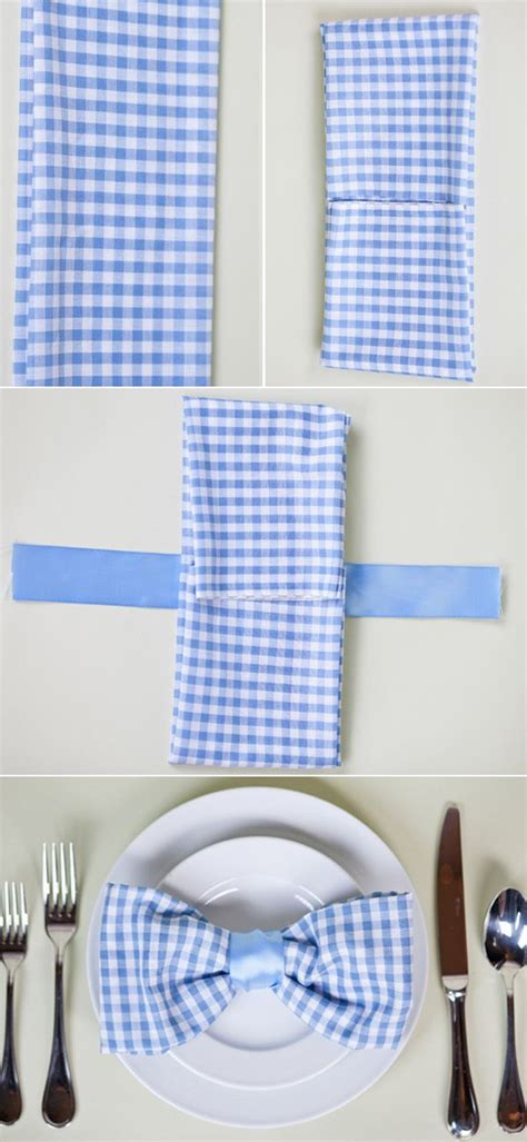 Easy Ways To Fold Paper Napkins - 17 best images about napkins napkin rings more on