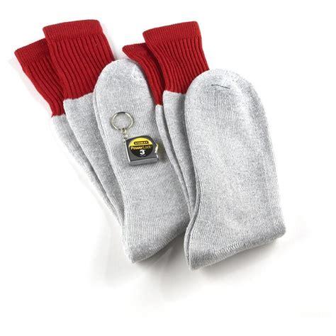 work socks 2 prs stanley 174 cushioned thermal work socks 202678