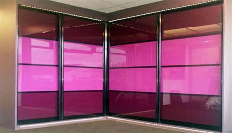 Coloured Glass Wardrobe Doors sliding door finishes for custom made furniture