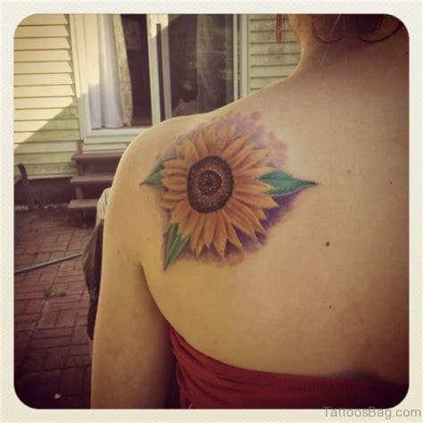 sunflower tattoo on shoulder 71 stunning sunflower tattoos on shoulder
