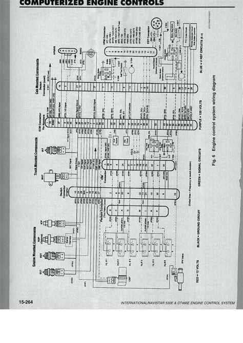 02 international 4300 dt466 wiring diagram 2006