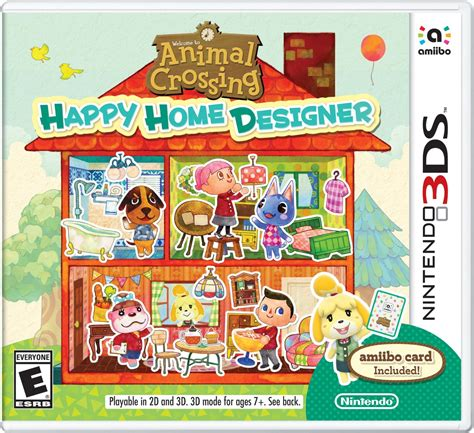 home design ds game animal crossing happy home designer for 20 at amazon and