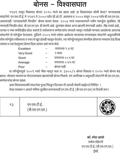 marathi application letter format sle application letter in marathi application letter