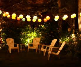Patio Garden Lights Wonderful Patio And Deck Lighting Ideas For Summer Furniture Home Design Ideas