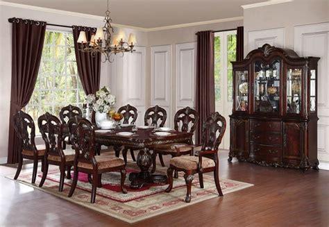 free dining room set homelegance 2243 114 deryn park formal dining room set