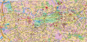 berlin map of germany berlin center map berlin germany mappery