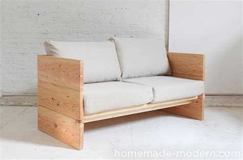 diy modern couch homemade modern diy box sofa 11 steps with pictures