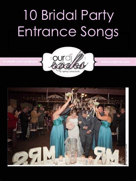 Wedding Songs, Wedding Reception Entrance, Bridal Party