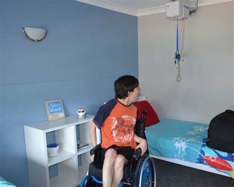 respite room respite taking the step wheelchair will travel