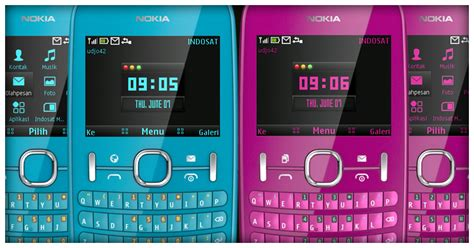 nokia c3 themes in mobile9 udjo42 high quality nokia themes nokia c3 theme pink