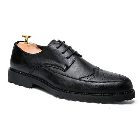 Formal Shoes For Wedding by מוצר Mens Formal Shoes Black Leather Wedding Business