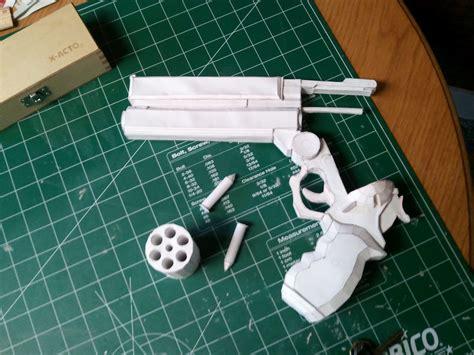Papercraft Props - superfreak1000 props trigun colt 45