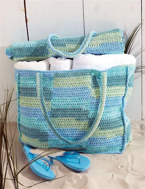 Pattern For Mat Bag by Bag Mat Patterns Yarnspirations