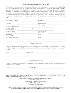 Condominium Lease Agreement Forms And Templates Fillable Printable Sles For Pdf Word Lease Rider Template