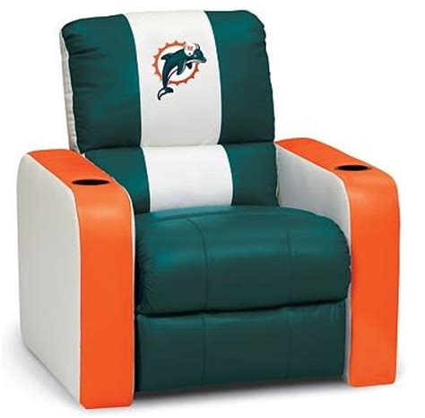 miami dolphins recliner miami dolphins dreamseat standard chair