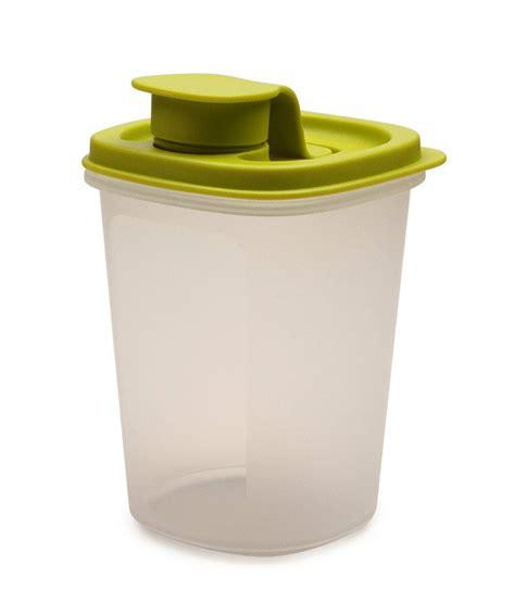 Tupperware 60ml 1pc tupperware 1 pc green lid mini magic flow plastic container 440 ml buy at best