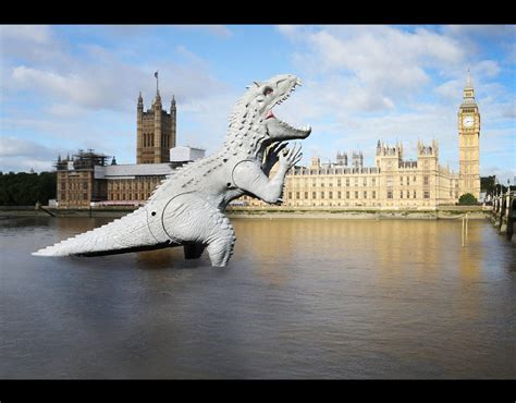 river thames jurassic world indominus rex river thames britain goes jurassic park