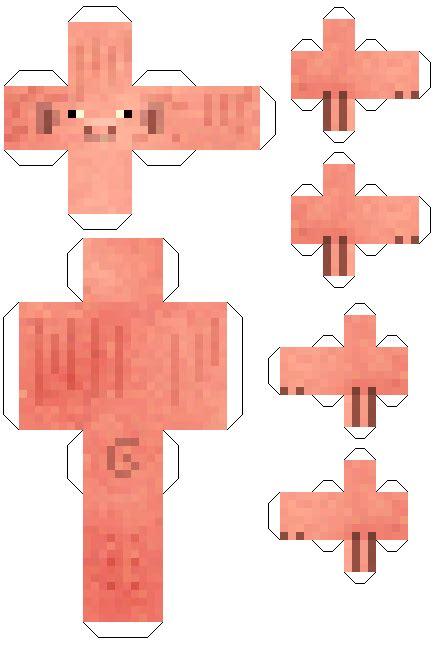 Papercraft Paper - papercraft pig