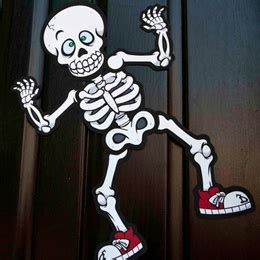 1000 ideas about skeleton decorations on