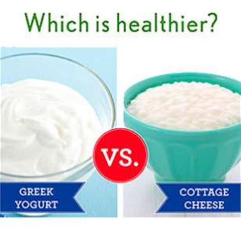 is cottage cheese or yogurt a healthier high protein