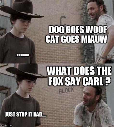 Carl And Rick Meme - rick and carl meme imgflip