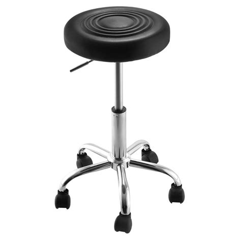 adjustable hydraulic stool black adjustable hydraulic rolling swivel stool