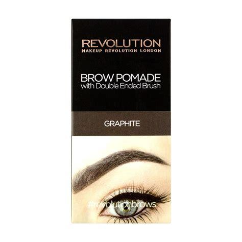 Makeup Za makeup revolution gel za obrvi brow pomade graphite