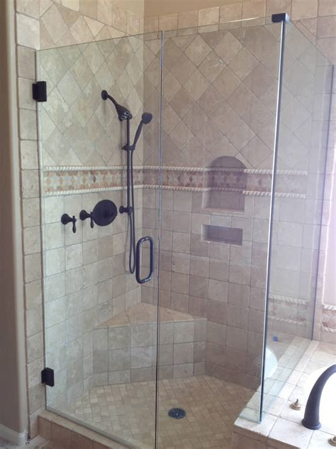 bathroom with glass doors atlanta shower door photo gallery superior shower doors