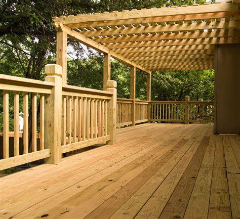 Pressure Treated Decks Built By Raleigh Deck Contractors