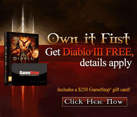 printable gamestop gift cards free diablo 3 gamestop gift card free